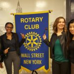 RCWS Members and our banner